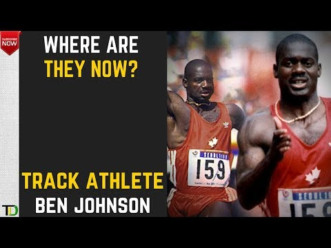 Where are they now? -  Ben Johnson (Jamaican Born Canadian Athlete)