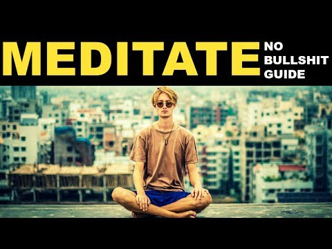 No Bullshit guide for meditation | How to meditate | To remove stress