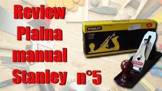 Коментар plaina керівництво по експлуатації Stanley глобальний П°5