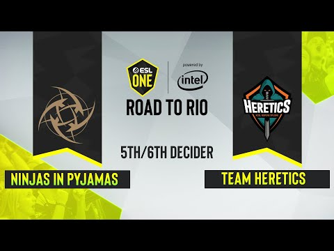 NiP vs Heretics - ESL One Road to Rio EU-Map2