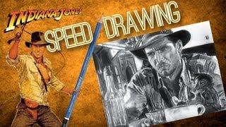 Josh Speed Drawing Indiana Jones