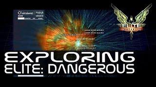 "Elite: Dangerous - Exploring Episode 22 ""The Lagoon Nebula"" and ""Thor"