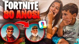 That's how FORTNITE SKINS are 80 YEARS OLD... *I DIDN'T WAIT THIS*