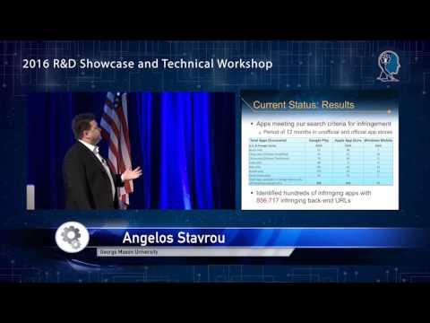 2016 R&D Technical Workshop: Mobile Application Communications Using GUI & Data Instrumentation