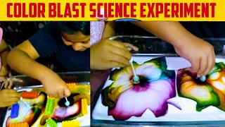 Science Experiment For Kids! Color Blast Easy Science Experiment! Color Magic! By KID'S ADVENTURE