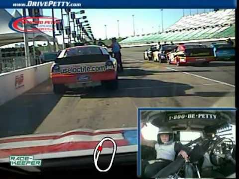 Richard Petty Driving Experience Kansas Speedway - 8 yo JR Ride Along