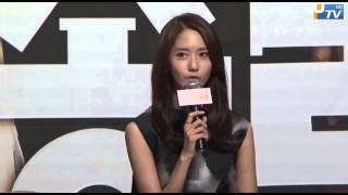 [UPTV] 少女時代 ユナ主演、ドラマ「総理と私」制作発表会
