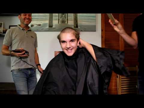 THE CHARITY HAIR SHAVE!