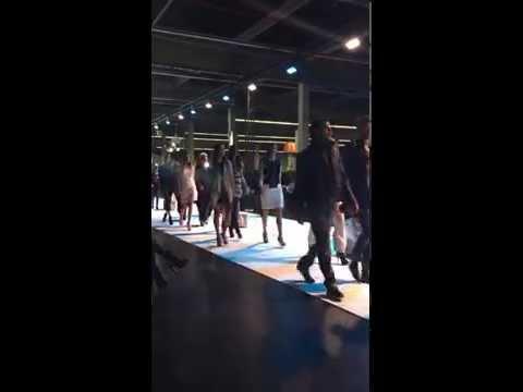 """Fashion Days 2014 """"Seven Rocks"""" - Schlusswalk mit allen Models und dem Team hinter den Kulissen"""