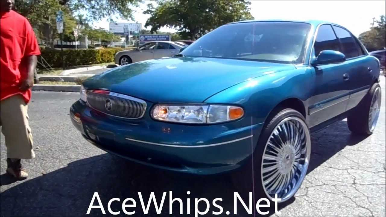For Sale Acewhips Net Buick Century On 24 Quot Dub Showtime