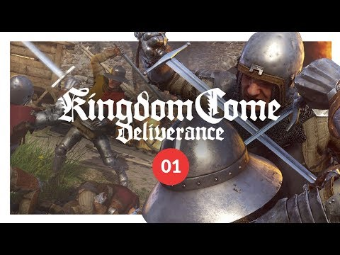 Kingdom Come: Deliverance | Let's Play 01 - RPG Gameplay in Medieval Europe (PC Ultra High Graphics)