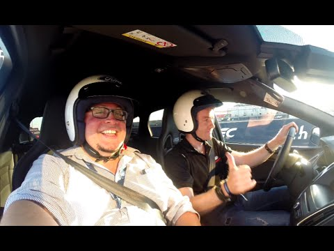CRAZY Ford Focus RS 24h of Le Mans lap with Olivier PLA