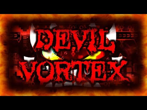 Devil Vortex (Extreme Demon) by Rustam | On Stream | Geometry Dash
