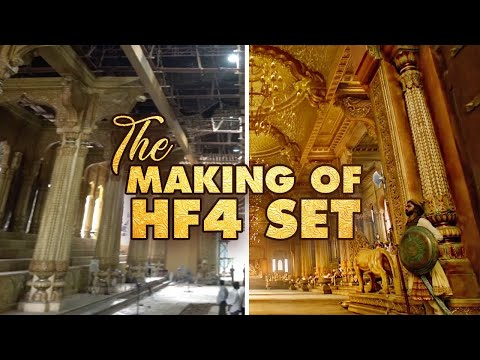 the-making-of-hf4-set-|akshay|riteish|bobby|kriti-s|pooja|kriti-k|sajid-n|farhad|-in-cinemas-now