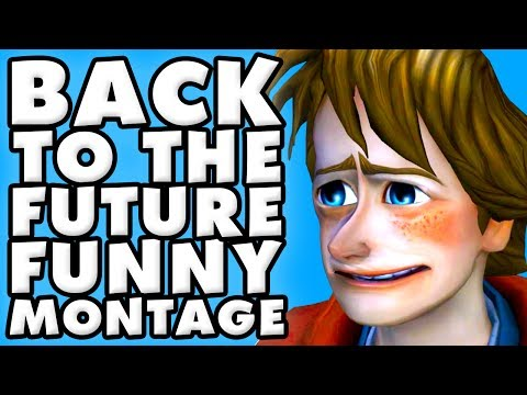 Back to the Future the Game Funny Montage!