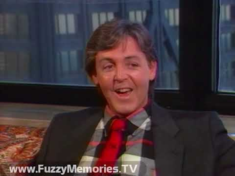 Paul McCartney Raw Interview Footage with Roy Leonard (1984)
