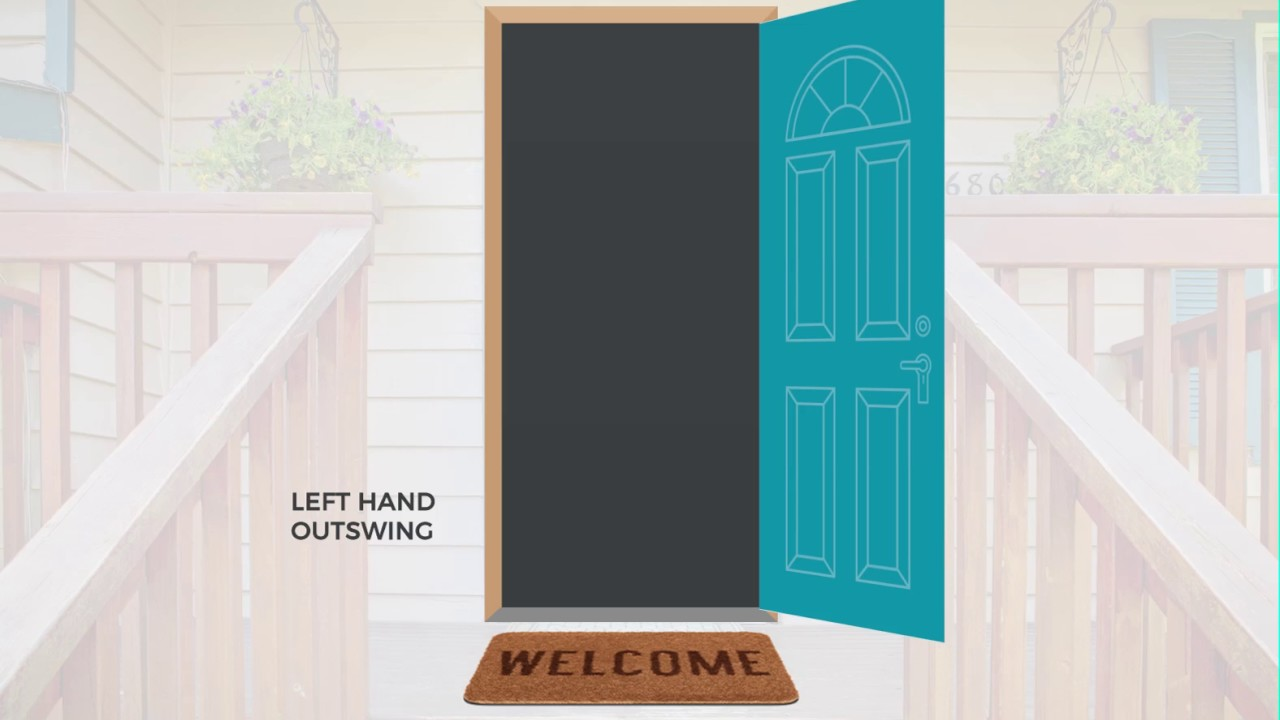 Left Hand Outswing Door