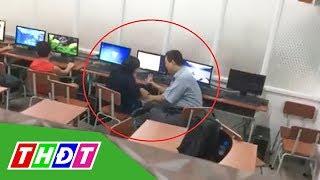 Thầy giáo sờ đùi, vuốt má nữ sinh bị buộc thôi việc | THDT