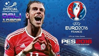 PES UEFA Euro 2016 France Semi-finals: Portugal vs Wales PC Gameplay 1080p 60fps