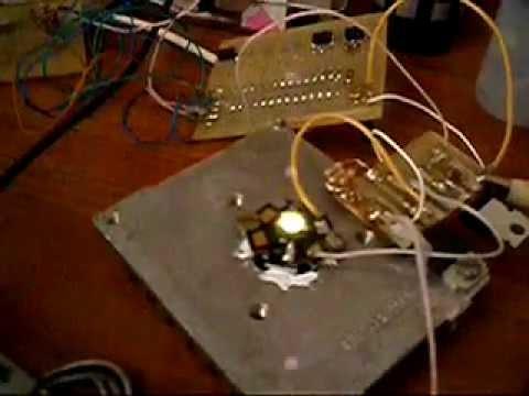 Светодиодный стробоскоп своими