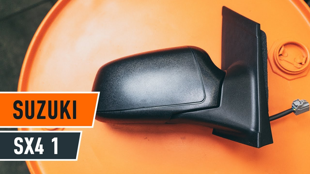 hight resolution of how to replace wing mirror on suzuki sx4 1 tutorial autodoc
