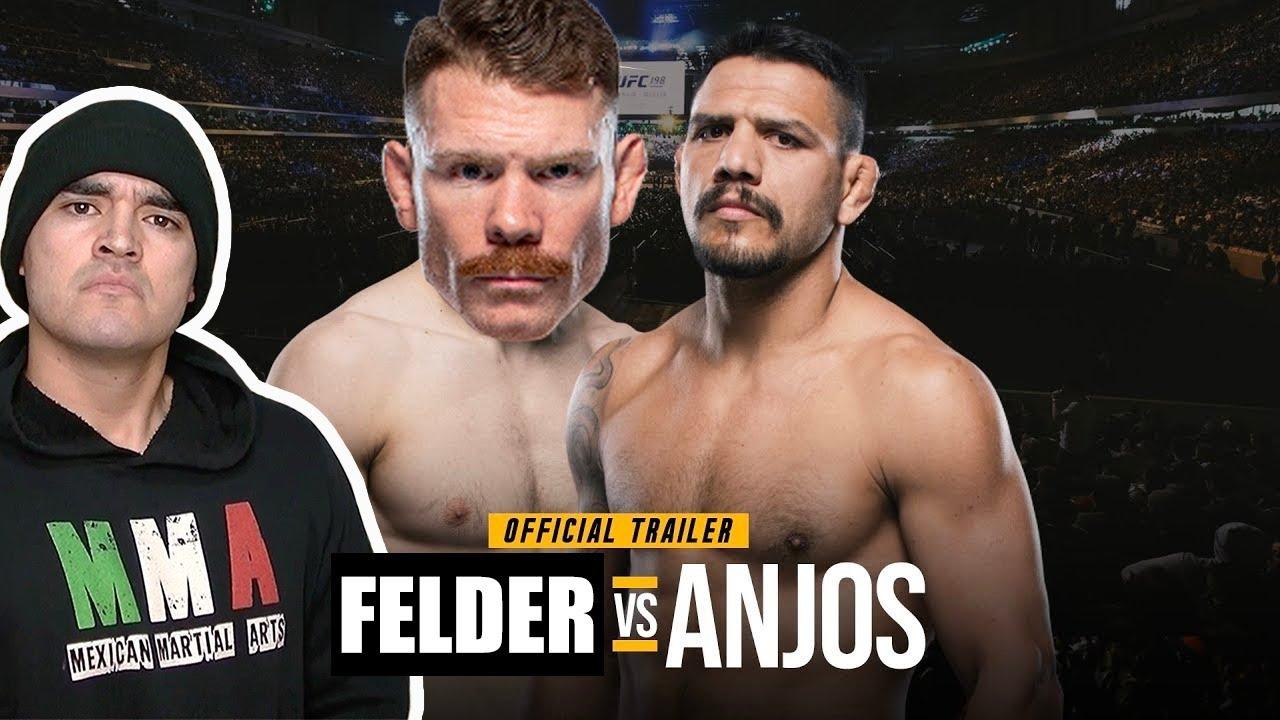 UFC FIGHT NIGHT - Felder vs Dos Anjos MEXICAN FIGHT COMPANION 🔥🔥