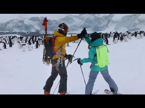 Father and Daughter Explore Antarctica