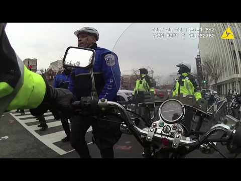 Body Cam Footage of J20 Police Kettling
