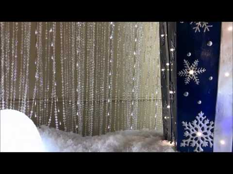 LED Light Curtain - Dekra-Lite Commercial Christmas Décor