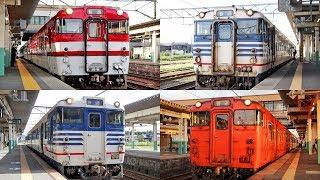 GV-E400系に置換!新津駅を発着する国鉄型気動車 2019 / JR東日本