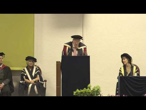 Sir Roger Bannister speaks at Oxford Brookes University