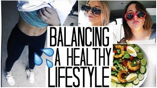 Workout & balance a healthy lifestyle ...