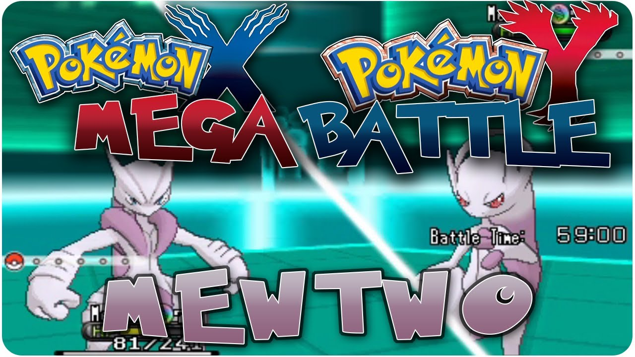 Pokemon X Amp Y Mewtwo X Vs Mewtwo Y Legendary Battle