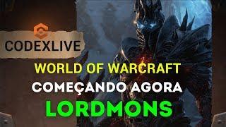 [LIVE] Hoje é dia de World of Warcraft! Vamos Conversar sobre SHADOWLANDS e Diablo 4!