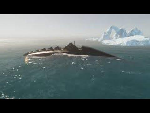 Crest Ocean Unity 3d Submarine Scene 2 Nautilus
