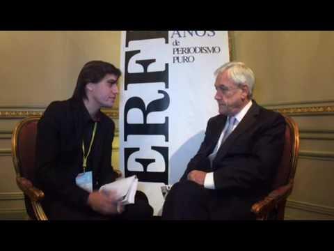 Sebastián Piñera, ex presidente de Chile