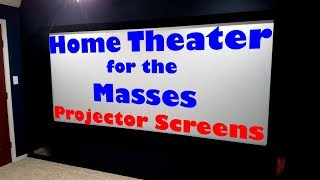 About Projector Screens
