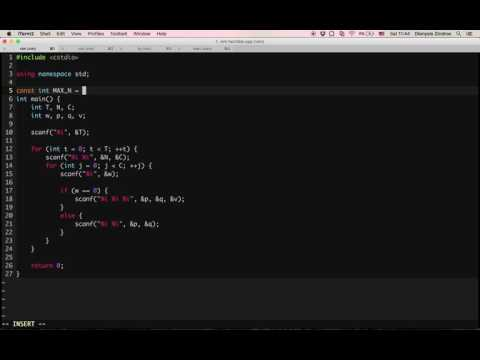 Using vim as-you-type syntax checking in C++ - YouTube