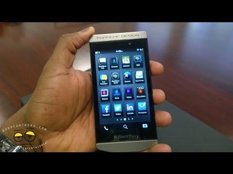 BlackBerry Porsche Design P9982 Hands-on