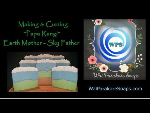 "Making & Cutting ""Papa Rangi"" Earth Mother - Sky Father"