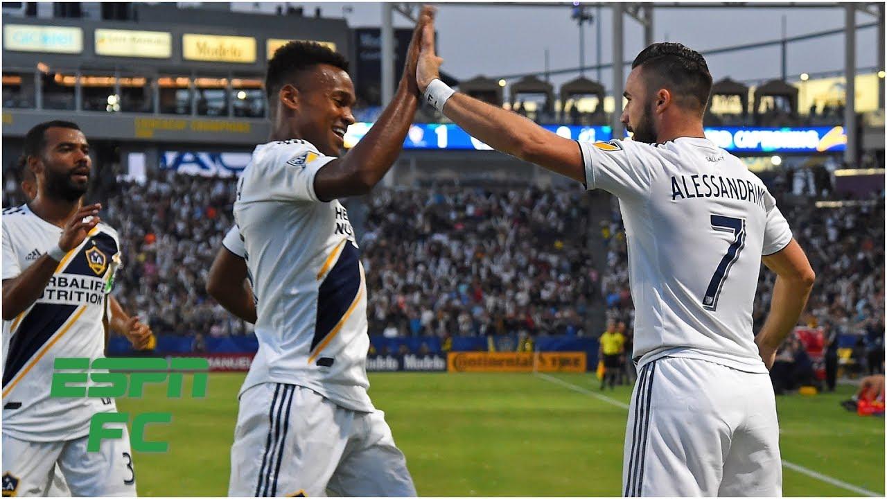 LA Galaxy holds off Minnesota United   MLS Highlights