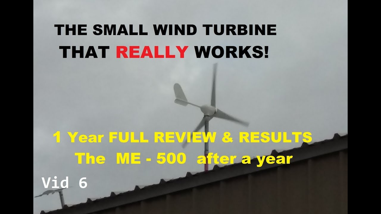 The best Chinese Wind turbine, total winner, 1 year+ review