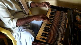 80 years old German jublet harmonium playing by my father M....
