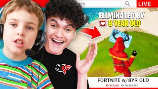 If You Win Fortnite, You Join FaZe Clan (Kid)