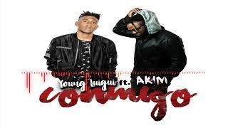 Video Conmigo - Young Luigi Ft. Akim download MP3, 3GP, MP4, WEBM, AVI, FLV Juni 2018