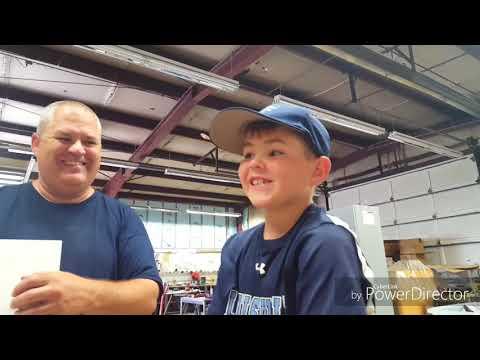 DIY Baseball Hat Rack