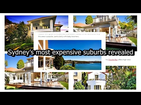 Sydney's most expensive suburbs revealed, So where are Sydney's most expensive suburbs?