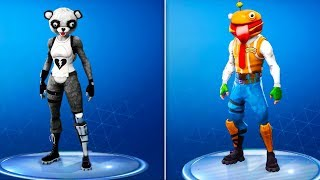 *NEW* LEAKED SKINS & COSMETICS in Fortnite! Durr Burger, Fuzzy Bear Panda, Celestial (Update v5.2)
