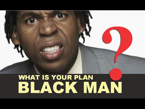 What is your economic plan black man? Do you even have one?