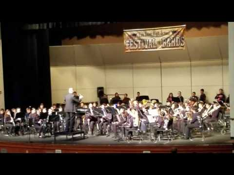 Vineyard Junior High School Concert Band 02 03 2017 Acclaim March